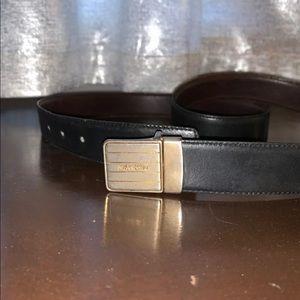 Vintage Yves Saint Laurent Men's Belt
